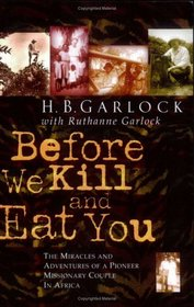 Book Cover: Before We Kill & Eat You