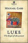 Book cover, Luke: The Gospel of Amazement